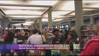 National Gingerbread House Day