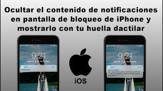 Mejor configuración de Notificaciones en iPhone (Privacidad en iOS)