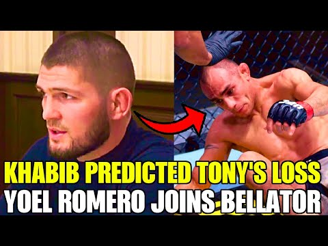 Khabib PREDICTED Tony Ferguson UFC 256 Loss, Conor McGregor Saves MMA Gym, Yoel Romero Goes Bellator