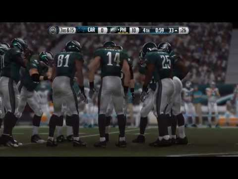 NFL 2014 MNF Week 10 - Carolina Panthers Vs Philadelphia Eagles - 2nd Half - Madden 15 PS4 - HD