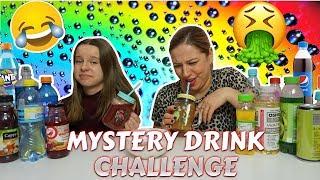 MYSTERY DRINK CHALLENGE z Mamą  MIESZANIE NAPOJÓW