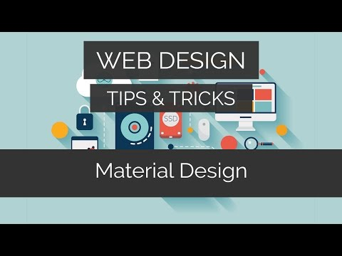 How To Make A Material Design Website In SECONDS | Web Design Tips & Tricks
