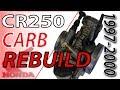 Keihin Carb Rebuild - 1997-2000 Honda CR250 | Fix Your Dirt Bike.com