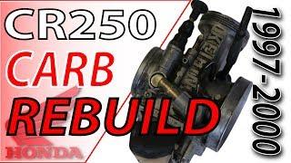 97 00 honda cr250 keihin carb rebuild   fix your dirt bike com