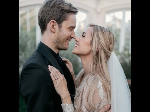 Controversial YouTuber PewDiePie Marries Former Beauty Vlogger Marzia Bisognin