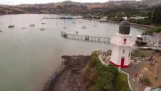 Akaroa Waterfront New Zealand