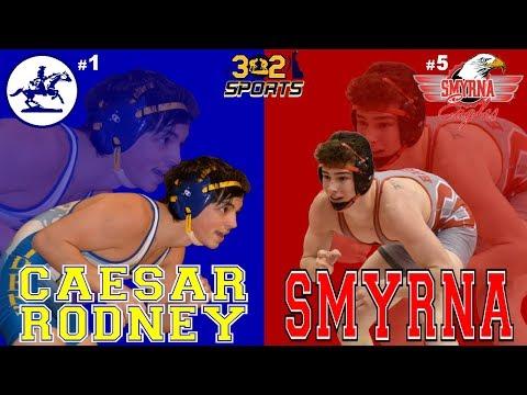 Smyrna visits Caesar Rodney Wrestling LIVE from Caesar Rodney High School