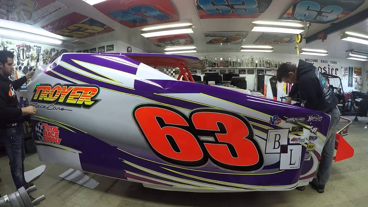 Incredible 2015 Dirt Modified 358 Stock Car Wrap In 1