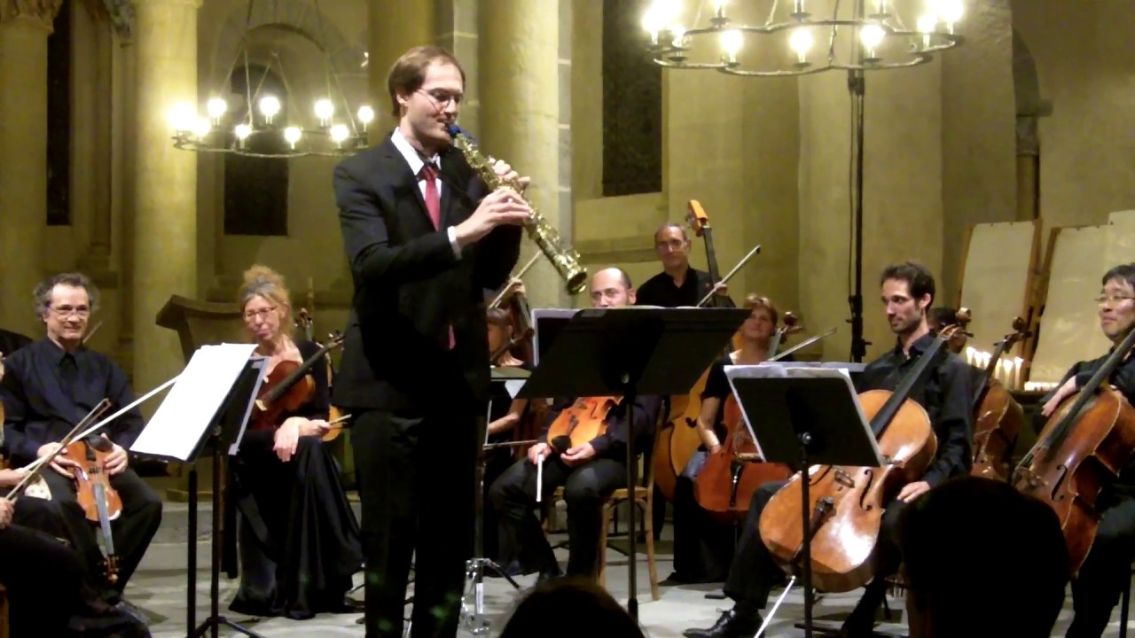 Capriccio n°17, Nicolò Paganini by Carl-Emmanuel Fisbach, saxophone