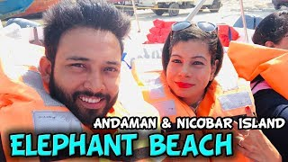 ELEPHANT BEACH | Andaman & Nicobar | Sanjhalika Vlog