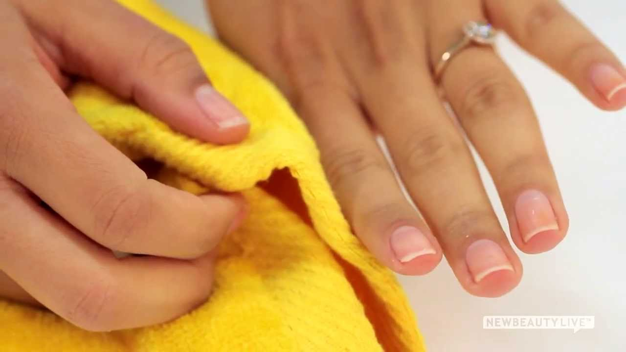 How To Whiten Nails Instantly | NewBeauty Tips and Tutorials - YouTube