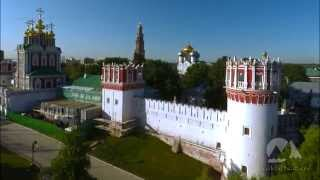Novodevichy Convent in Moscow / Новодевичий монастырь в Москве(Novodevichy Monastery in Moscow, Russia from the air. Aerial video by BaikalNature Team. Новодевичий монастырь в Москве. Аэросъемка BaikalNature., 2015-01-21T01:33:49.000Z)