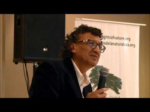 Ramiro Avila, Prosecutor on behalf of Earth Opening the Rights of Nature Tribunal
