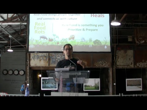 Mario Fiorucci talks Real Food at RISE Toronto