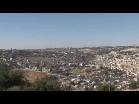 Amazing view of East Jerusalem