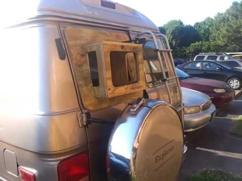 51 Stealth Campervan Window Ac Update Youtube