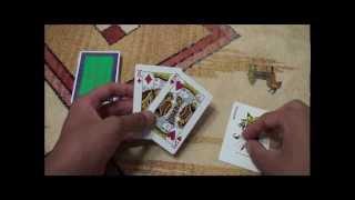 トランプが一瞬で裏返るマジック 【種明かし】 thumbnail