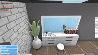 5*5 BEDROOM BUILD OFF WITH MY FRIEND DURPOSIN | roblox | bloxburg