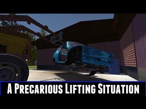 A Precarious Lifting Situation (My Summer Car)