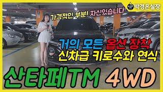 옵션빵빵한 산타페 4WD를 선택하세요!! 3,150만원…