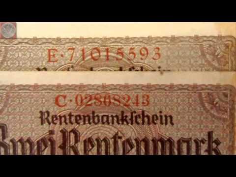 Banknoten Deutsches Reich - Update