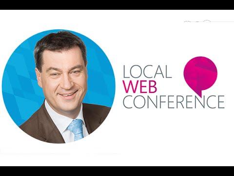 #LWC15 Markus Söder, Bay. Staatsminister der Finanzen, für Landesentwicklung und Heimat