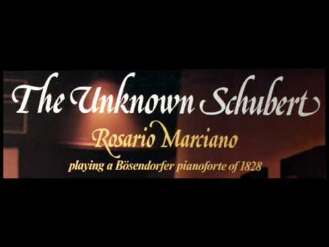 Schubert / Rosario Marciano, 1974: Kupelwieser Waltz in G Flat major