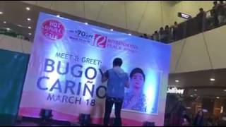 Bugoy Carińo @ Robinson Antique March 18 2017