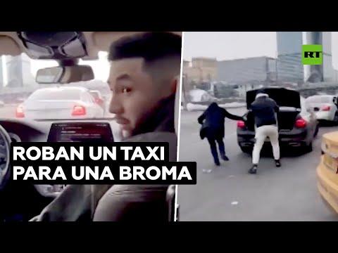 Detenidos tras robar un taxi BMW de 460.000 dólares para gastar una broma