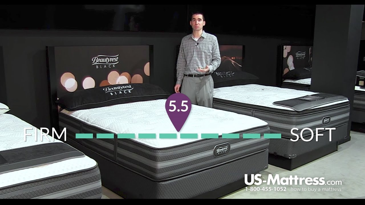 simmons beautyrest black desiree plush mattress expert review youtube
