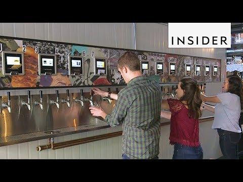 Brooklyn Bar Has Beer ATMs