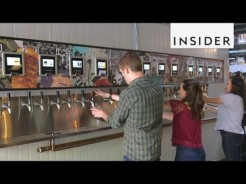 Brooklyn Bar Has Beer ATMs