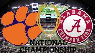 Thursday Throwback - NCAA Football National Championship!!