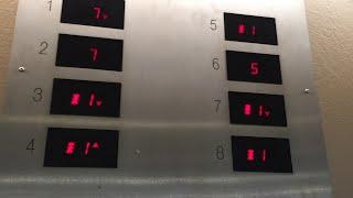 KONE EcoSystem MR Traction Elevators - Rental Car Garage, San Jose Mineta Airport, San Jose, CA