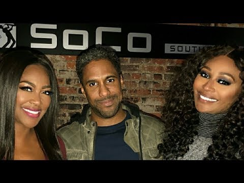 Love: Kenya Moore-Daly Marc Daly & Cynthia Bailey Night Out On IG Live