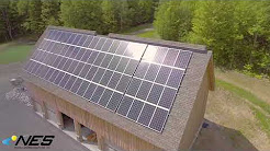 Solar Installation in Tully, NY