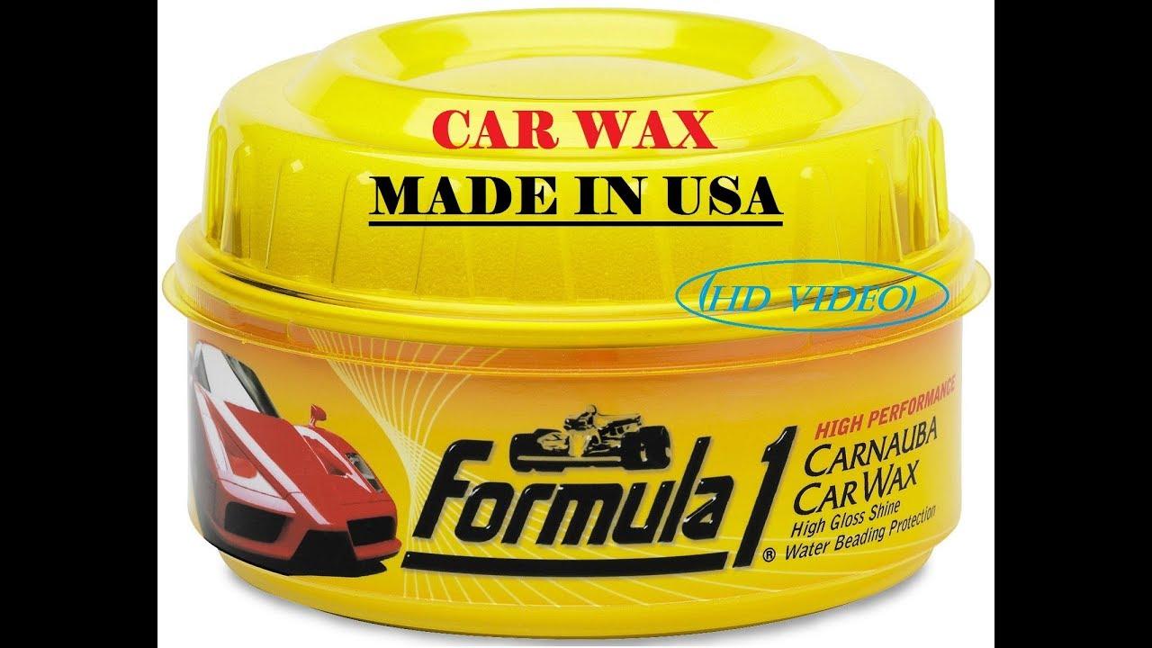 Ibiz Car Wax: FORMULA 1 CAR WAX