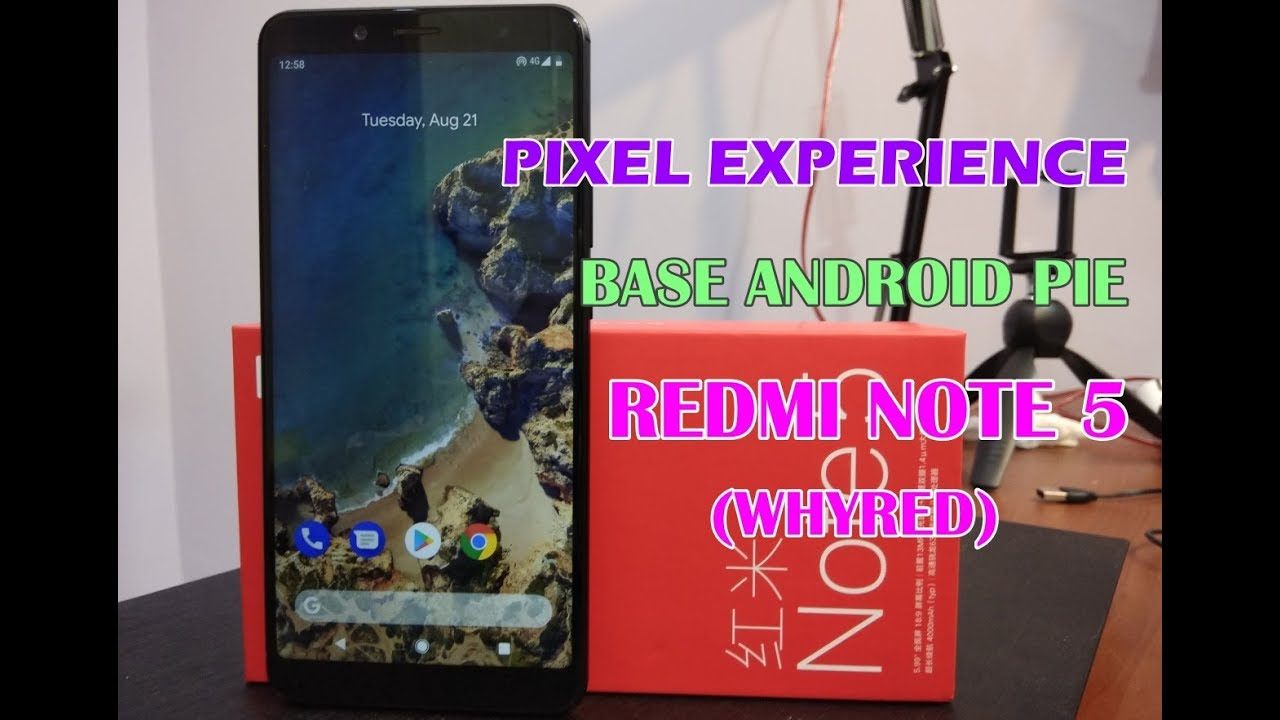 Galaxy Note 5 Pie Rom
