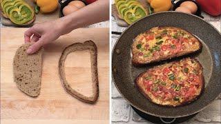 Une omelette dans une tartine et autres astuces avec des oeufs 🥚🍳🧞♂️