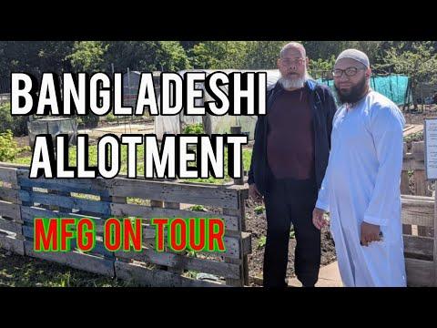 Shokher Bagan Birmingham – Bangladeshi Allotment Tour – The Great British Garden Tour