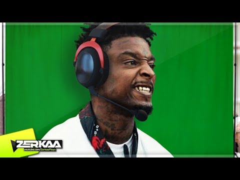 21 SAVAGE PLAYS ROCKET LEAGUE! (Rocket League)