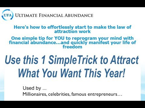 Ultimate Financial Abundance is YOURS NOW! - YouTube