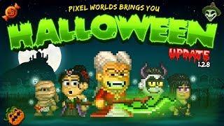 Halloween 2018 UPDATE! - Pixel Worlds