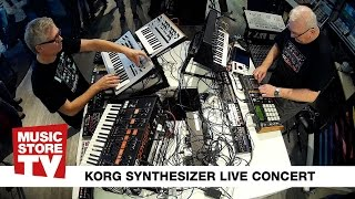 KORG Synthesizer Concert @ MUSIC STORE
