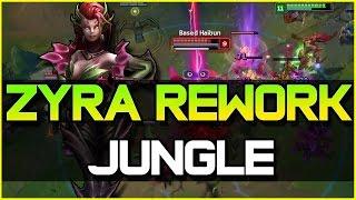 ZYRA REWORK JUNGLE GAMEPLAY | League of Legends