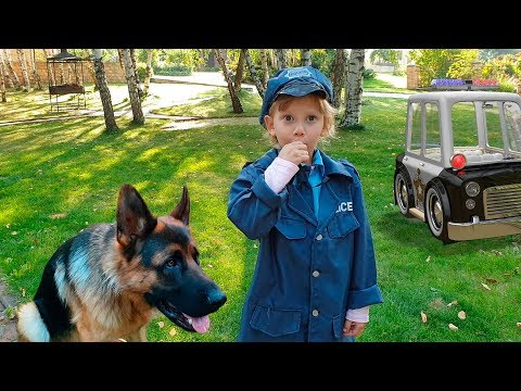 Alena policeman is looking for lost dog Ray