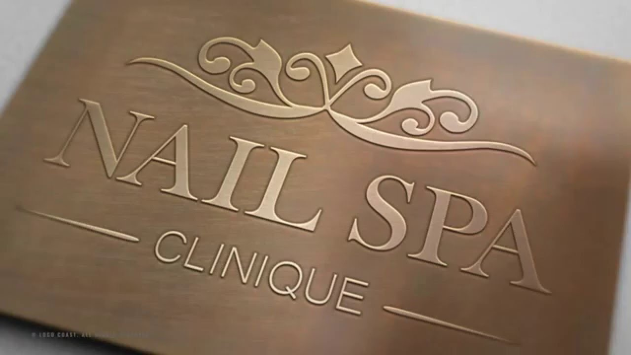 Nail Spa Logo Design Brief | Case Study | Nail Spa Clinique - YouTube