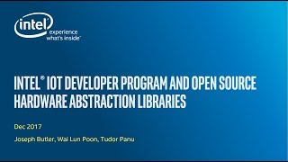 Virtual IoT | Intel® IoT Developer Program and open source hardware abstraction