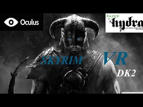 SKYRIM WITH OCULUS RIFT DK2  AND RAZER HYDRA WHAT????