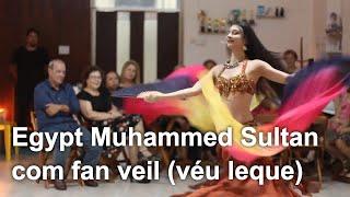 Egypt Muhammed Sultan (com fan veil) | Aline Mesquita Dança do Ventre | Porto Alegre - RS